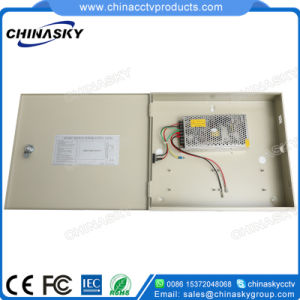 12VDC 10AMP CCTV Power Supply with Battery Backup (12VDC10A1P/B) pictures & photos