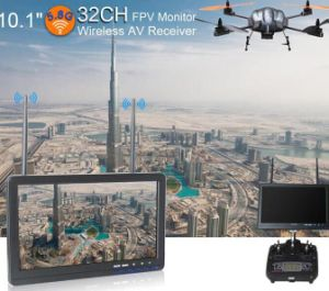 Dual 32 Channel AV Receiver 10.1 Inch Fpv Monitor No Blue Screen, 16: 9 pictures & photos