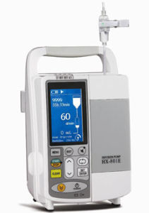Drip-Rate and Volumetric Mode, Infusion Pump (HX-801E) with CE Certificate pictures & photos