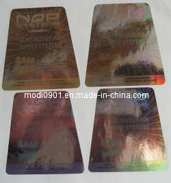 2016 High Quality Hologram, Customized Hologram Sticker, Laser Anti-Counterfeit Labels/Trademark