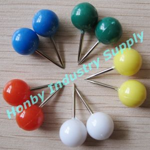 20mm Office School Use Assorted Color Round Head Map Pin