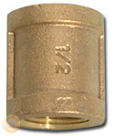 Brass Coupling with Good Quality (KX-BF001) pictures & photos