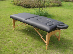 Wooden Prenatal Massage Table (PW-2) pictures & photos
