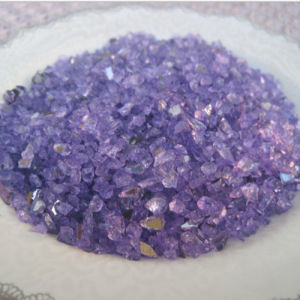 Reflective Purple Fire Glass Chippings pictures & photos