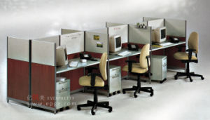 Wholesale Office Office Partition Workstation for 6-Person Office Staff Workstation pictures & photos