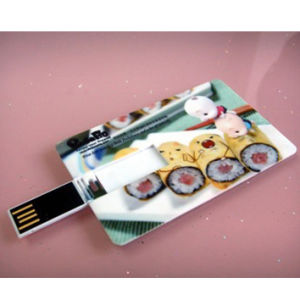 Credit Card USB Flash Drive, USB2.0