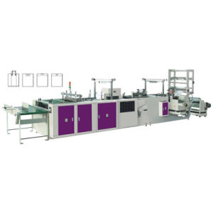 Full Automatic Soft Handle Bag Making Machine pictures & photos