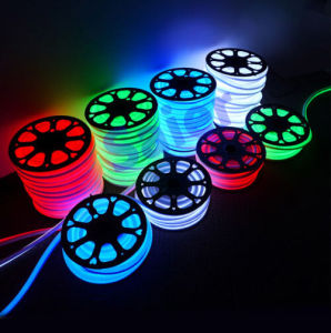 AC110V 5W 14*25mm LED Flexible Neon Rope
