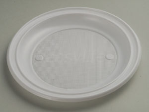 Easylife P092210 9′′ (22cm) Round Plate PS White pictures & photos