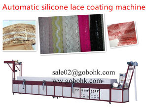 Lx-St03 Multi Tape Automatic Silcione Lace Coating Machine pictures & photos