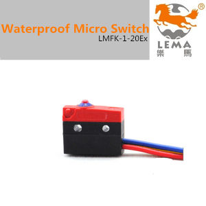 5A 250V IP65 Waterproof Micro Switch Lmfk-1-20ex pictures & photos
