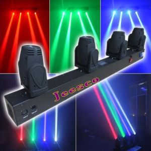 4heads 12W RGBW 4in1 LED Beam Moving Head Light