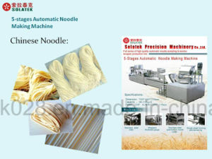 Automatic Freshnoodle Making Machine (SK-8430) /Ravioli Tortellini Wrapper Making Machine/ Udon Mia Making Process Line/Laksa Noodles pictures & photos