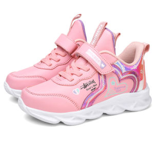 s Shoes Colorful PU Sneakers Girls Shoe