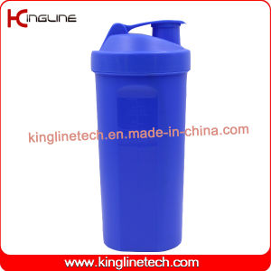 1000ml Plastic Protein Shaker Bottle with Blender Mixer Ball Inside (KL-7060) pictures & photos