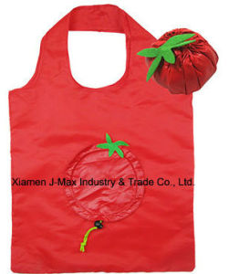 Foldable Shopper Bag, Fruits Tomato Style, Reusable, Lightweight, Grocery Bags and Handy, Gifts, Promotion, Accessories & Decoration pictures & photos