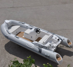 Liya 4.3m High Performance PVC Inflatable Boats for Sale pictures & photos