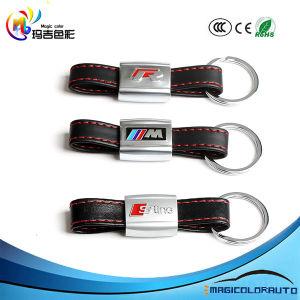 S-Line Leather Keychain for Audi Keys S line SLine Keyring Key Fob Ring Chain