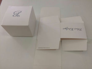 2017 Customzied Logo Printed White Paper Box for Wax Candle (JP-BOX0045) pictures & photos
