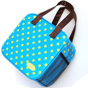 Lovely Blue Cooler Cool Picnic Handbag Lunch Insulated Bag pictures & photos
