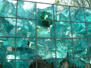 Ornamental Blue Crushed Recycled Glass pictures & photos