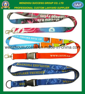High Quality Custom Printed Polyster Neck Lanyards pictures & photos