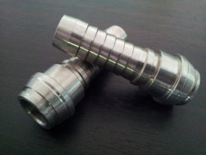 Stainless Steel NPT/Bsp/BSPT/G Thread Hose Nipple