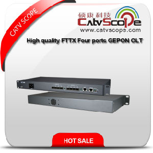 High Quality FTTX Four Ports Gepon Network Olt