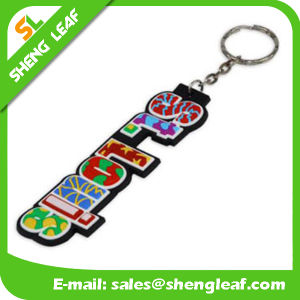 Custom Branded Soft PVC Keychain for Promotion Event (SLF-KC078)
