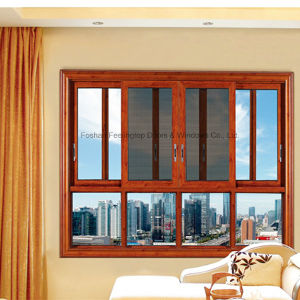 Feelingtop China Manufactured Aluminum Sliding Window with Mosquito Net (FT-W80/126) pictures & photos