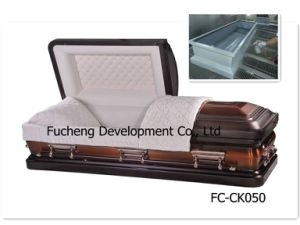 High Stable Quality Competitive Price Solid Poplar Casket (FC-CK050)