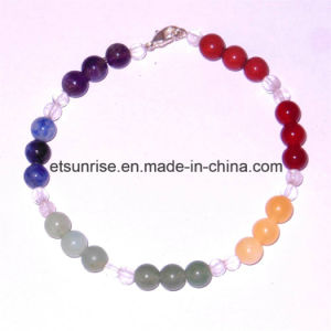 Semi Precious Stone Fashion Natural Crystal Tiger Eye Man Women Assessories Charming Bracelet pictures & photos