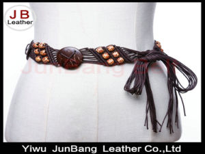 Classical Flavor Ethnic Fancy Wooden Beads Belt pictures & photos