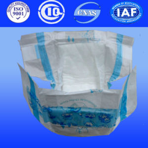 Baby Diapers with Spandex Yarn for Baby Nappies, Baby Care for Wholesales (Y410) pictures & photos