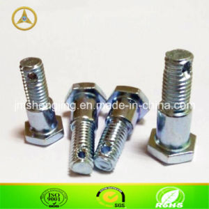 China Hex Step Bolt With Hole For Machine M8x30 10x13 China Bolt Screw