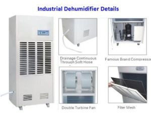 Industrial Dehumidifier with Auto Defrosting