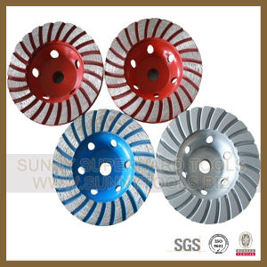 "7"" Diamond Abrasive Grinding Cup Wheel pictures & photos"