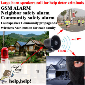 GSM Neighbor Help, GSM Community Security and Alarm Box pictures & photos