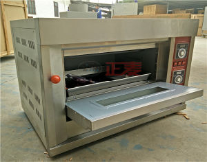Industrial Bakery Gas Baking Single Deck Oven with Gas for Bakery (ZBB-101M) pictures & photos