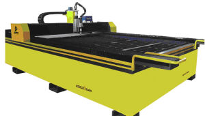 CNC Cutting Machine Table Type Plasma with AC Servo Motor Double Driving