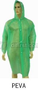 Green PEVA Disposable Raincoat pictures & photos