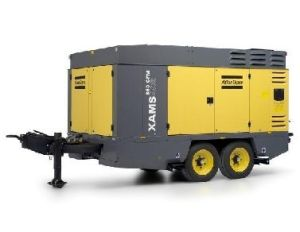Atlas Copco Portable Screw Air Compressor (XAMS466E)