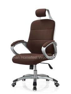 Brown Leather Swivel Manager Boss Office Executive Chair (HF-M93A) pictures & photos