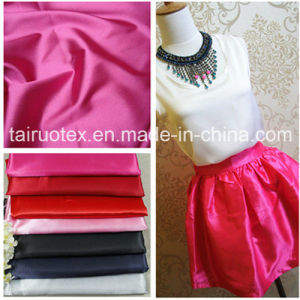 Elastic Satin with Good Quality for Lady Dress Fabric pictures & photos