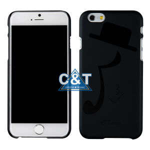 Black Lovely Music Note Cell Case for iPhone 6 Plus
