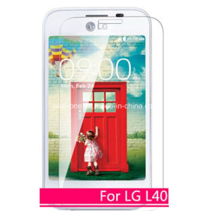 0.33mm Oleophobic Coating Cell Phone Screen Protector for LG L40