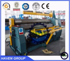 W11H-35X3000 high quanlity Bottom rollers Arc-Adjust plate bending rolling machine pictures & photos
