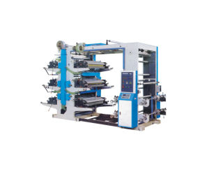 Six Colors High-Speed Computerized Flexo Printing Machine pictures & photos