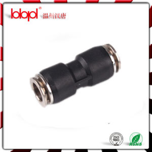 Plastic & Brass Round Male Straight Pneumatic Fittings pictures & photos