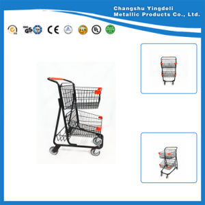 Cart for Supermarket/Shopping Basket Trolley for KTV/Trolley